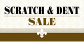 scratch and dent sale banner sign template