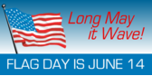 Signage for Flag Day Banners