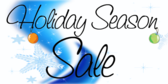 winter sale banner sign template