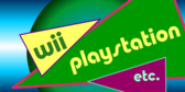 wii PlayStation etc. banner sign template