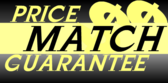 price match guarantee banner sign template