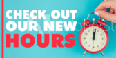 check out our new hours banner sign template