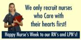 nurse appreciation week banner sign template