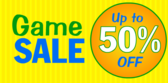 up to 50% off sale banner sign template