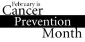 cancer prevention month vinyl banner template