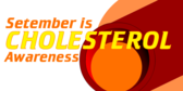cholesterol awareness month banner sign template
