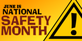 national safety month banner sign template