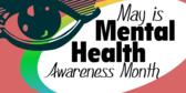 mental health awareness month banner sign template