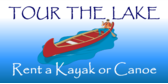 rent a kayak or canoe banner sign template