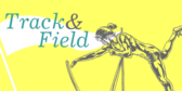 track and field banner sign template