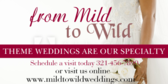 theme weddings banner sign template