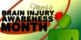 brain injury awareness month banner sign template