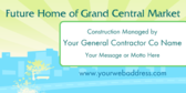 construction banner sign template