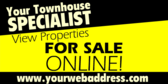 Condominiums For Sale Signs