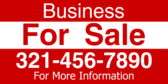 Commercial Real Estate Banner & Yard Sign Designs
