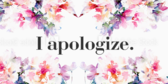 Apology Signs