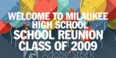 School Reunion Signs