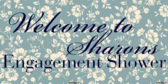 congratulations on your engagement banner sign template