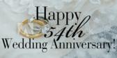 wedding anniversaries vinyl banner template