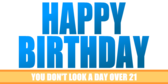 Funny Birthday Banners