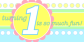 Baby's 1St Birthday Banners