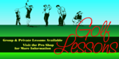 Golf Lesson Signs Online