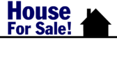 Generic real estate yard sign designs