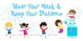 Social Distance Children's Banners