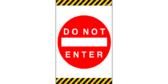 Do Not Enter Door Banners